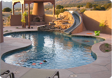 Beau Inground Pools Northeast Ohio Pricing | Albuquerque Outdoor Swimming Pool Inground  Gunite Pool Design