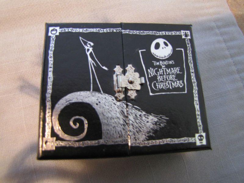 Rare Nightmare Before Christmas Engraved Jack And Sally