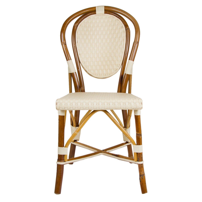 Cream Mediterranean Bistro Chair B M & G = HOME