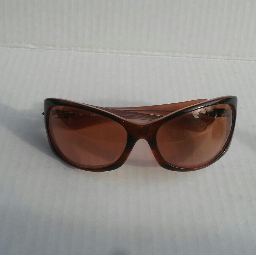 Deringer Oakley Black Frame Tawny Lens
