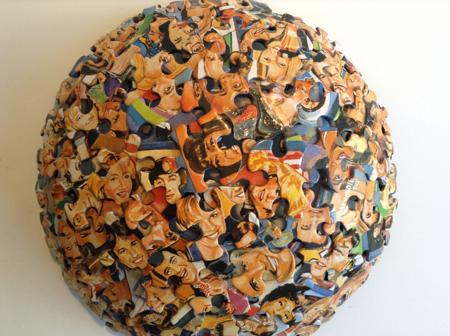 Who's Looking at You Jigsaw Puzzle Bowl by SJPuzzles on