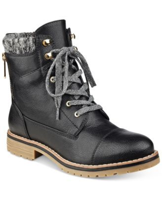 b81e57b81941c5 TOMMY HILFIGER Tommy Hilfiger Omar2 Lace-Up Booties.  tommyhilfiger  shoes    all women