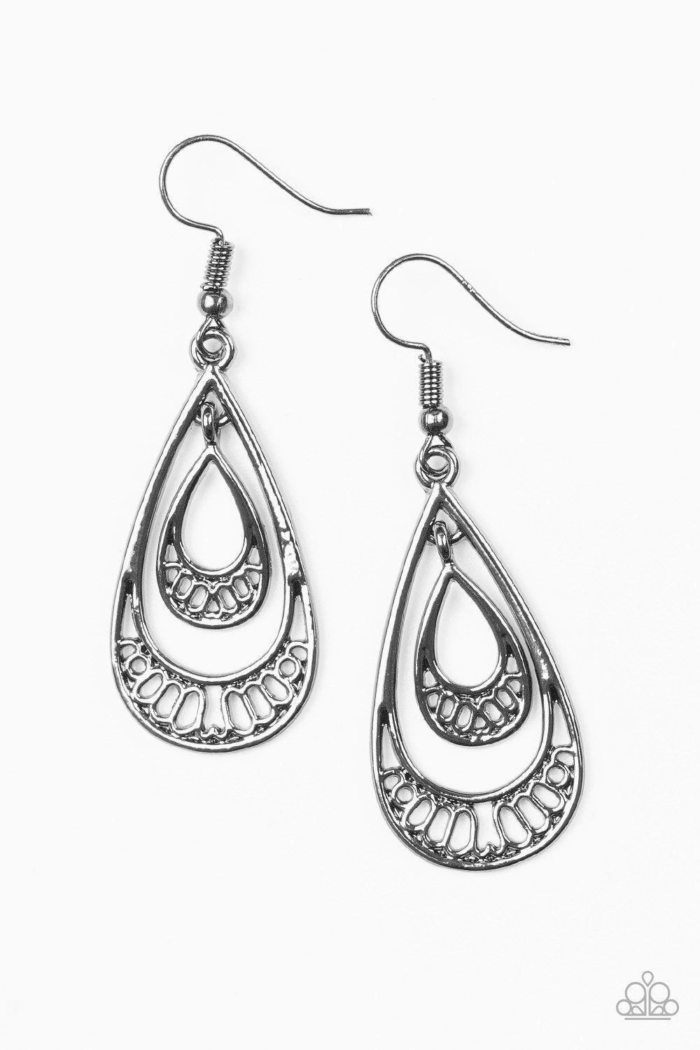 f562ce774 REIGNed Out - Gunmetal Earrings in 2019 | beads and baubles #4 ...