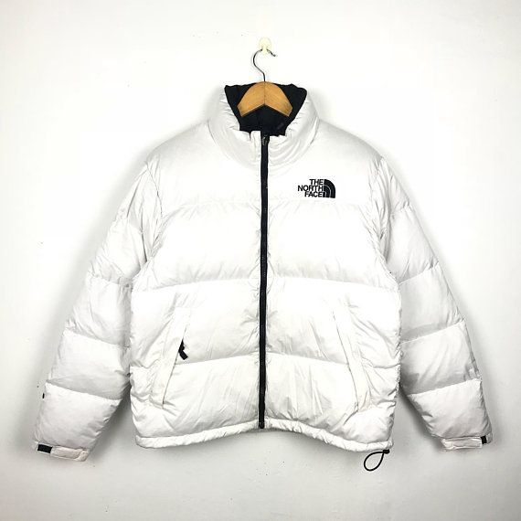 The North Face Vintage 90s Nuptse 600 White Puffer   Goose Down Jacket  Men s Size Large d769dc175