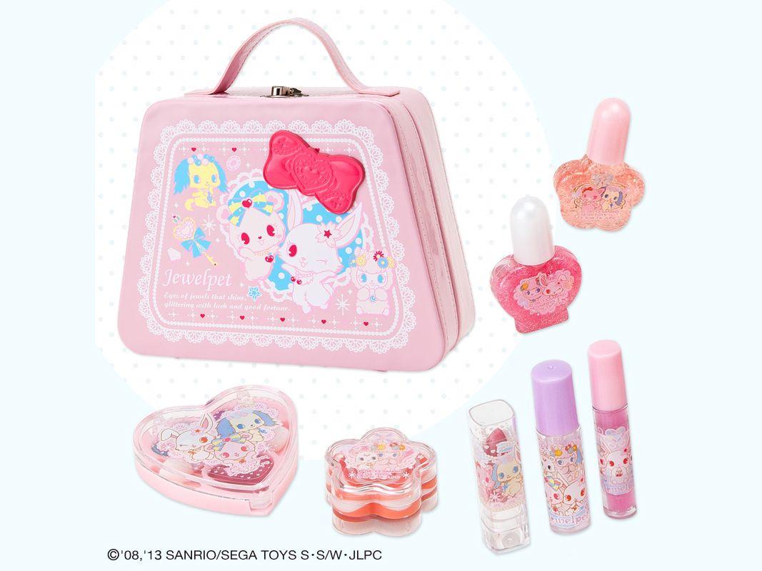 0ee2bfc14788 Jewelpet Kids Cosmetic Set Bag Girls Christmas Gift SANRIO JAPAN ...