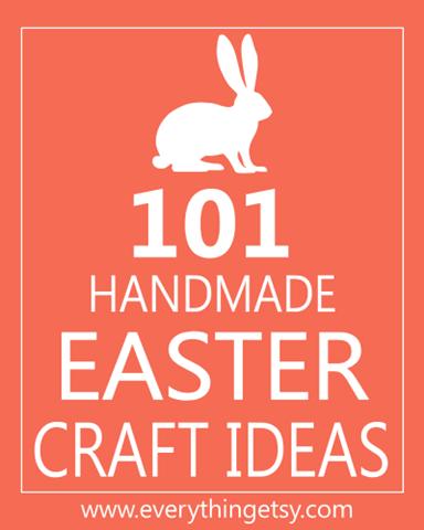 101 ideeën om zelf iets te maken voor pasen