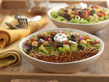 bean burrito bowl