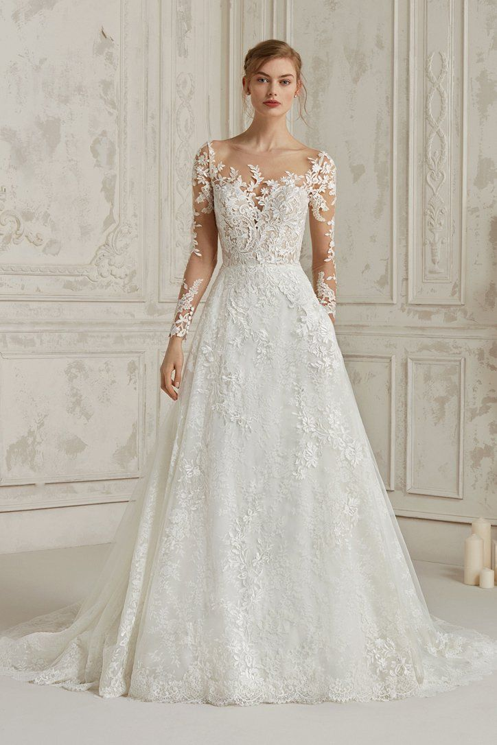 Pronovias Minsk Wedding Dress Long Sleeve Pronovias Wedding Dress Bridal Dresses
