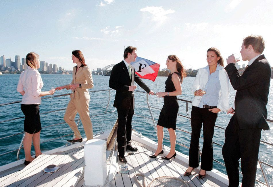 Corporate party cruises with sydney harbour escapes boat