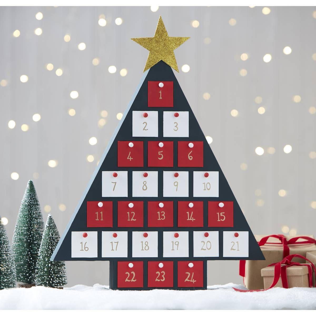 Wooden Christmas Tree Advent Calendar Hobbycraft Christmas Tree Advent Calendar Christmas Tree Advent Calendar Diy Wood Advent Calendar