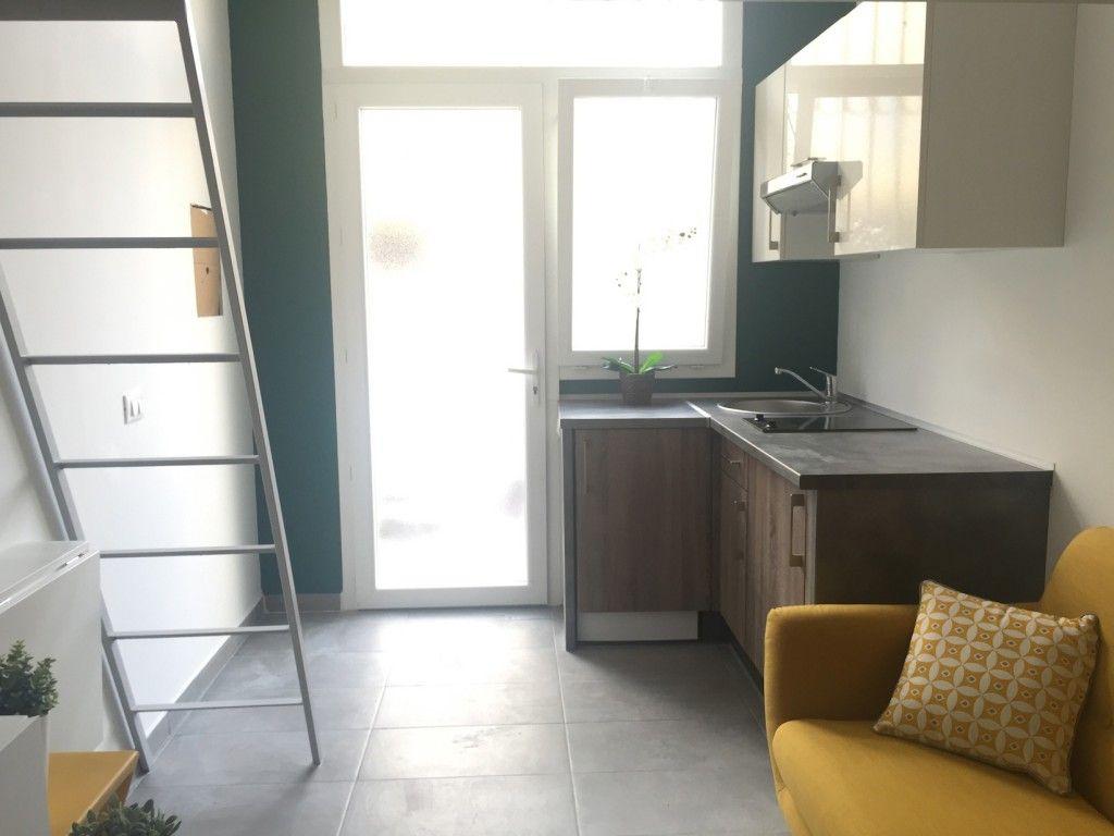 Un joli studio déco - couleurs, matériaux, mezzanine | Mezzanine and ...