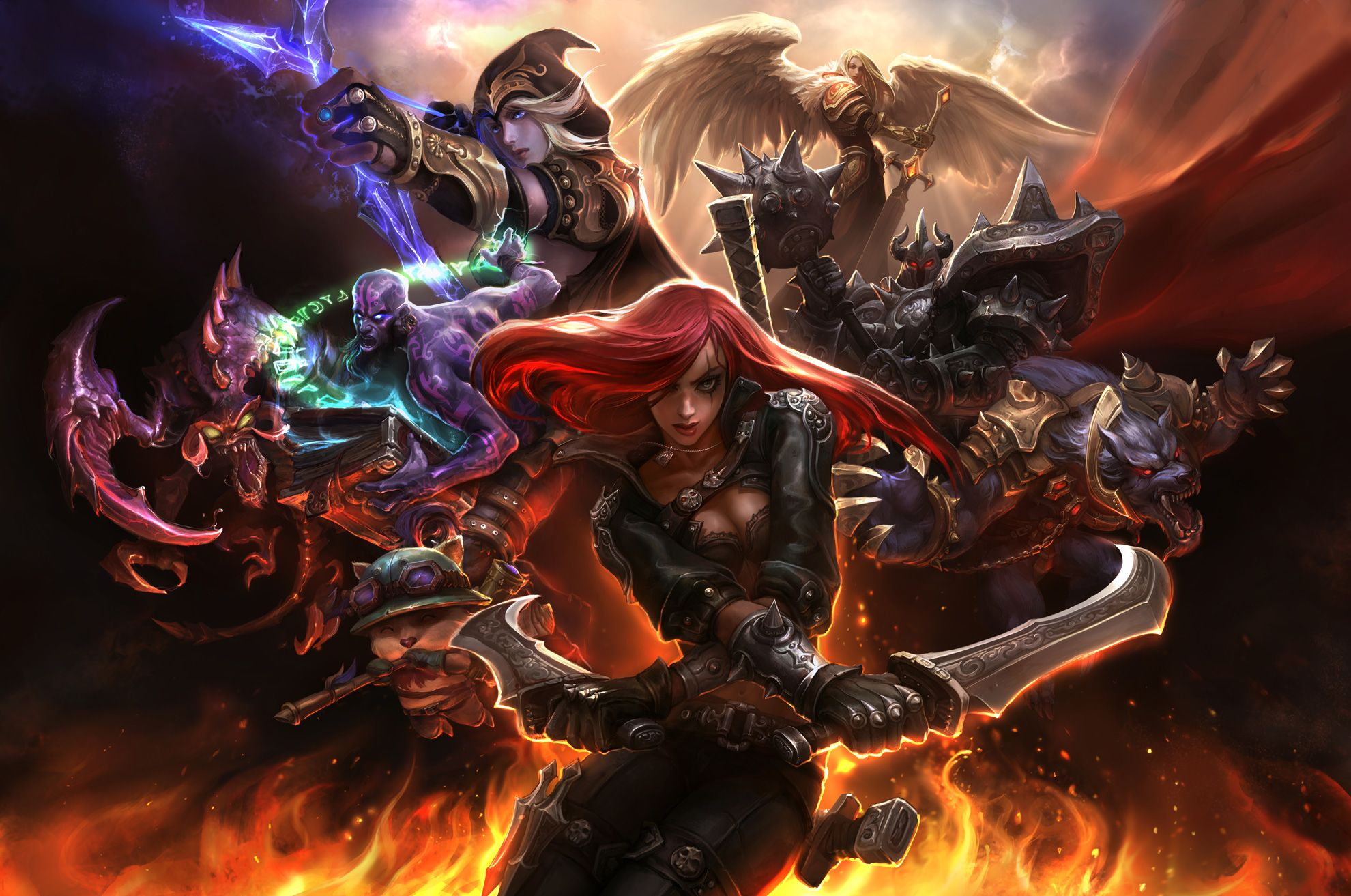 the best league of legends champions for beginners pcgamesn - 1280×720