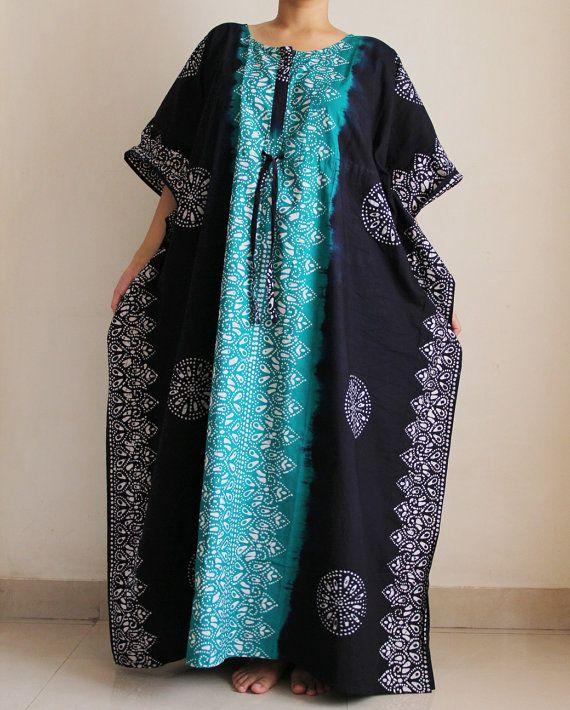 PLUS Size caftan Summer dress plus size dress by ADifferentWeave ...