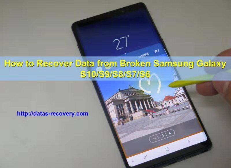 How To Get The Data From A Broken Phone
