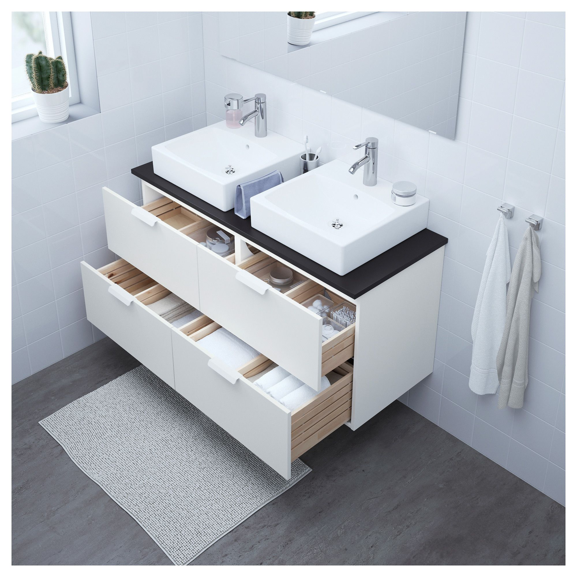 bathroom vanity godmorgon tolken t rnviken white anthracite in rh pinterest com