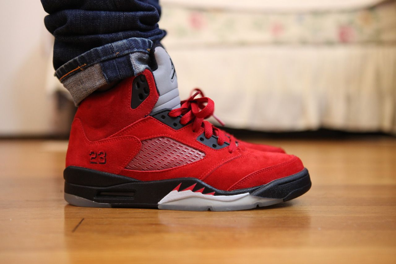 Pin by MJ on Jordan 5's on Feet | Jordans, Jordan v
