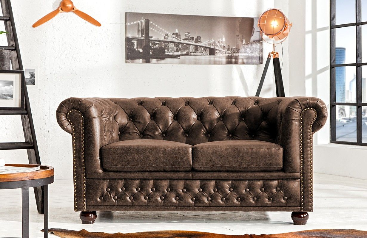 Sofa Chesterfield 2er Vintage Von Nativo Designer Mobel Osterreich Chesterfield Sofa Chesterfield Mobel Und Chesterfield Wohnzimmer