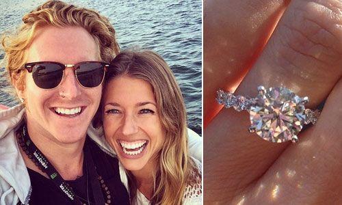 Jessica Alba Engagement Ring