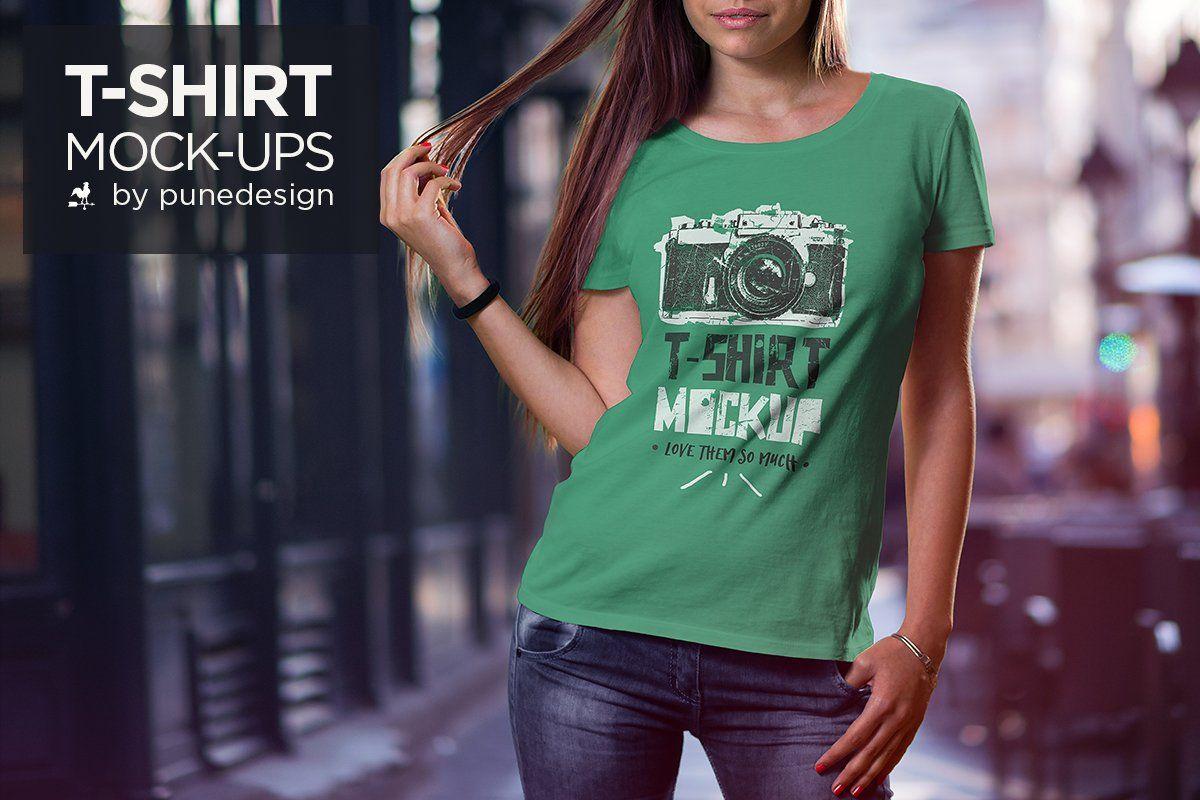 Download T Shirt Mock Up Set Shirt Mockup Tshirt Mockup Mockup