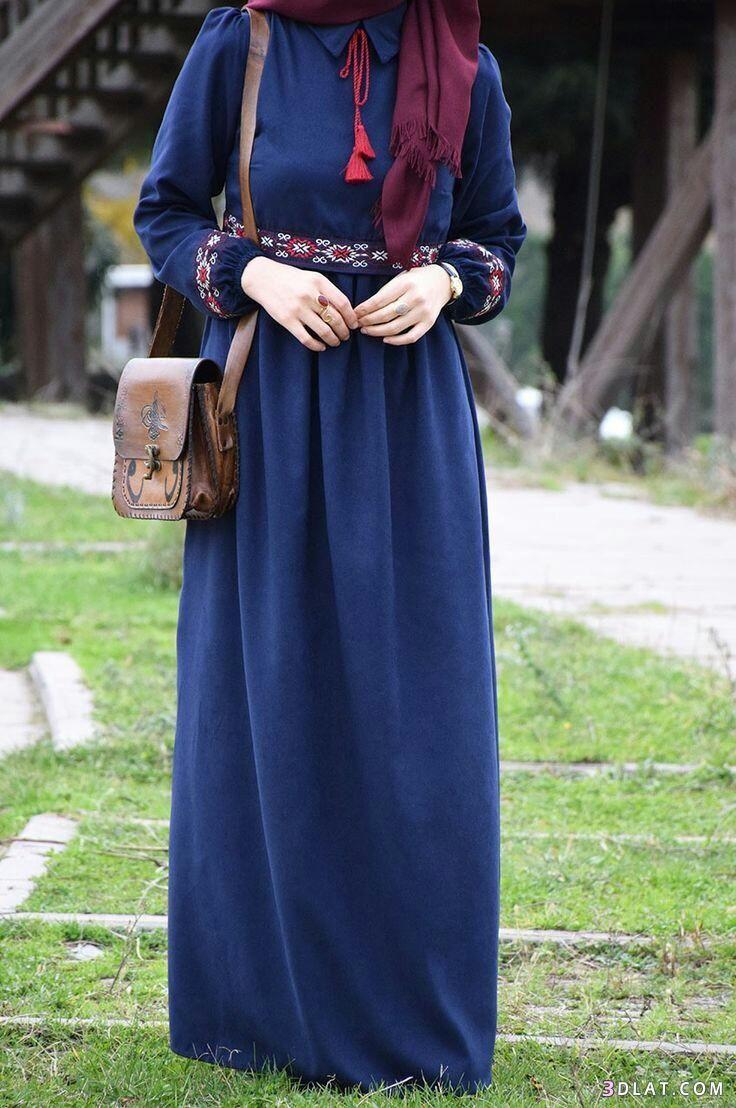 ملابس محجبات2019 اشيك فساتين المحجبات الصيفية ازياء محجبات2019 حجاب 3dlat Com 23 18 32a5 Hijabi Fashion Summer Abayas Fashion Muslimah Fashion Outfits