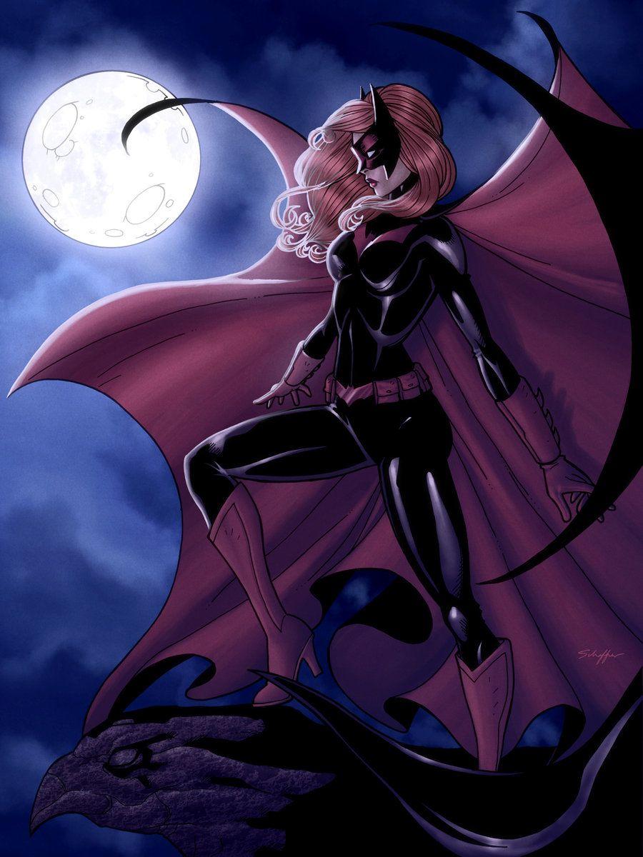 Batwoman- Colored by JamieFayX.deviantart.com on @deviantART