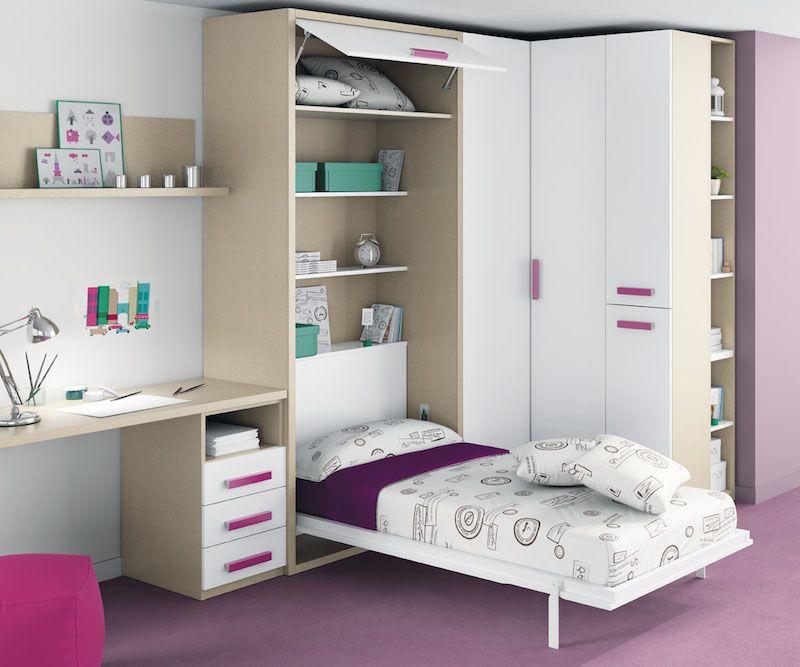 A La Recherche D Un Lit Escamotable Une Place Pas Cher Lit Escamotable Idee Deco Chambre Enfant Lit