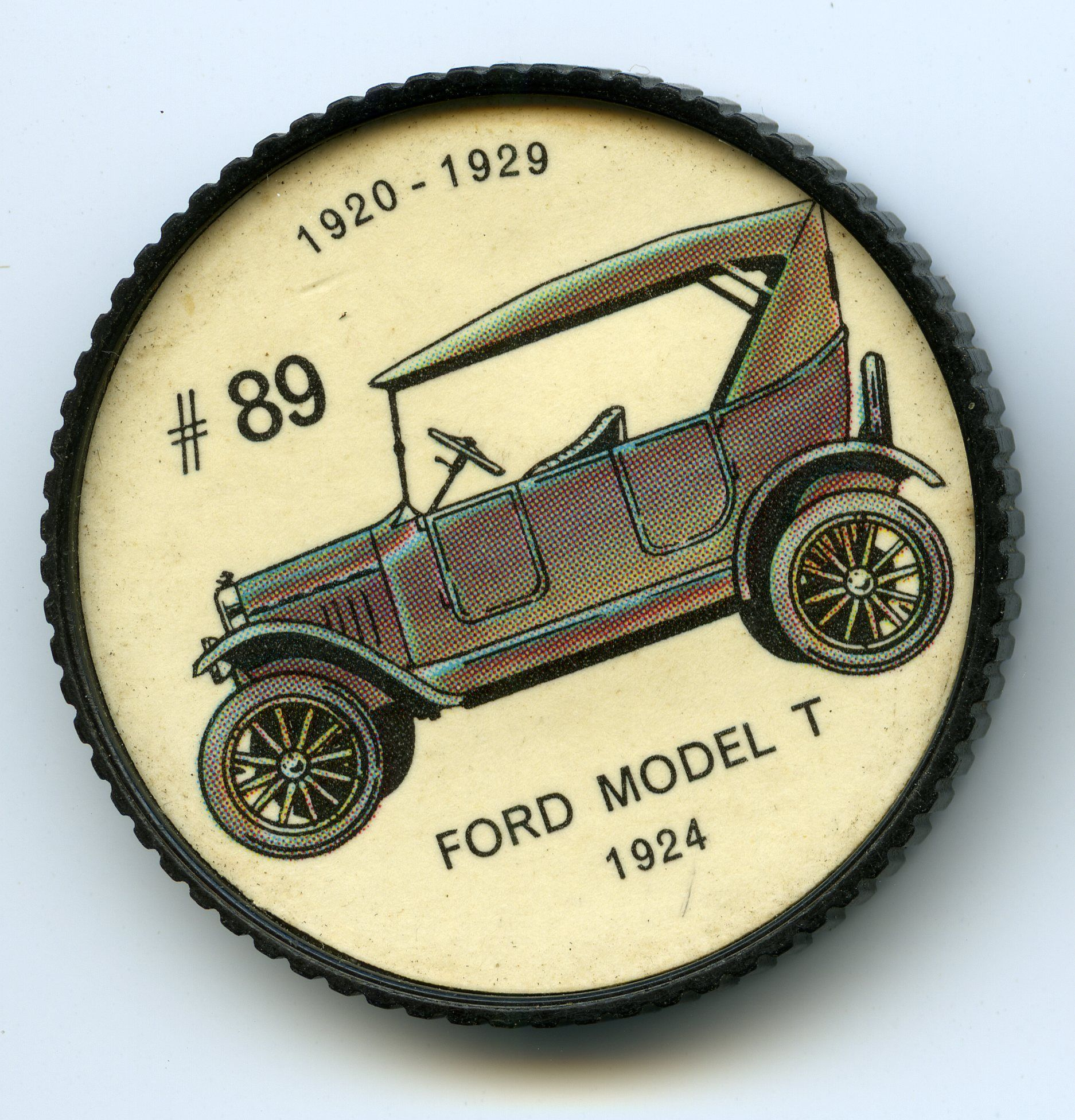Jello O Coin 89 Ford Model T 1924 First Introduced In