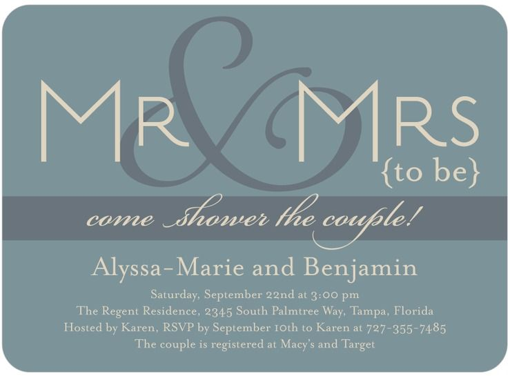 jack and jill shower invitations heres a pretty yet simple couples wedding shower invitation click