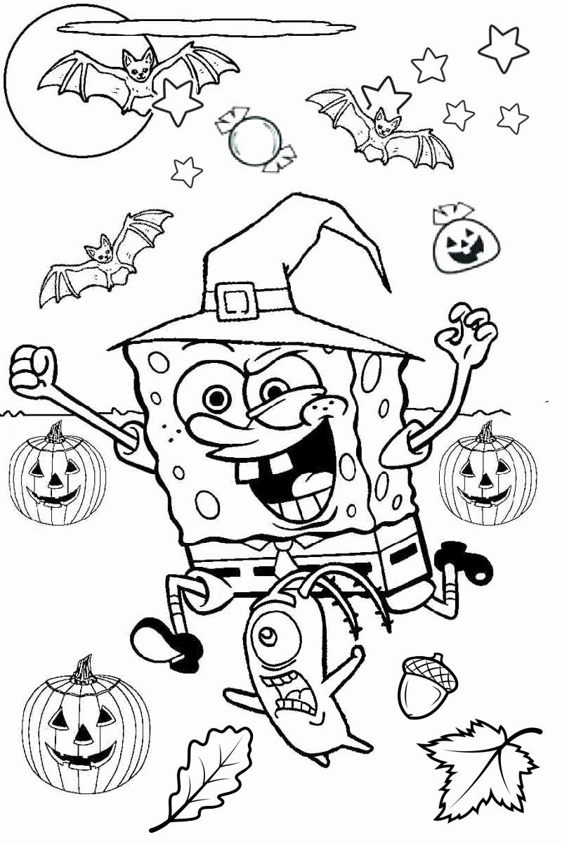 Spooky Halloween Coloring Pages Printable Best Of Coloring