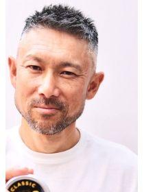 メリケンバーバーショップ Merican Barbershop ネープレス刈り上げベリーショートでジェントルマン アジアの男性のヘアスタイル メンズヘアスタイル ベリーショート ヘアスタイル メンズ 40代