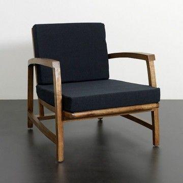 Butaca moderna de madera ventus mbar muebles estilo urbano un nuevo concepto de decoraci n - Butacas individuales ...