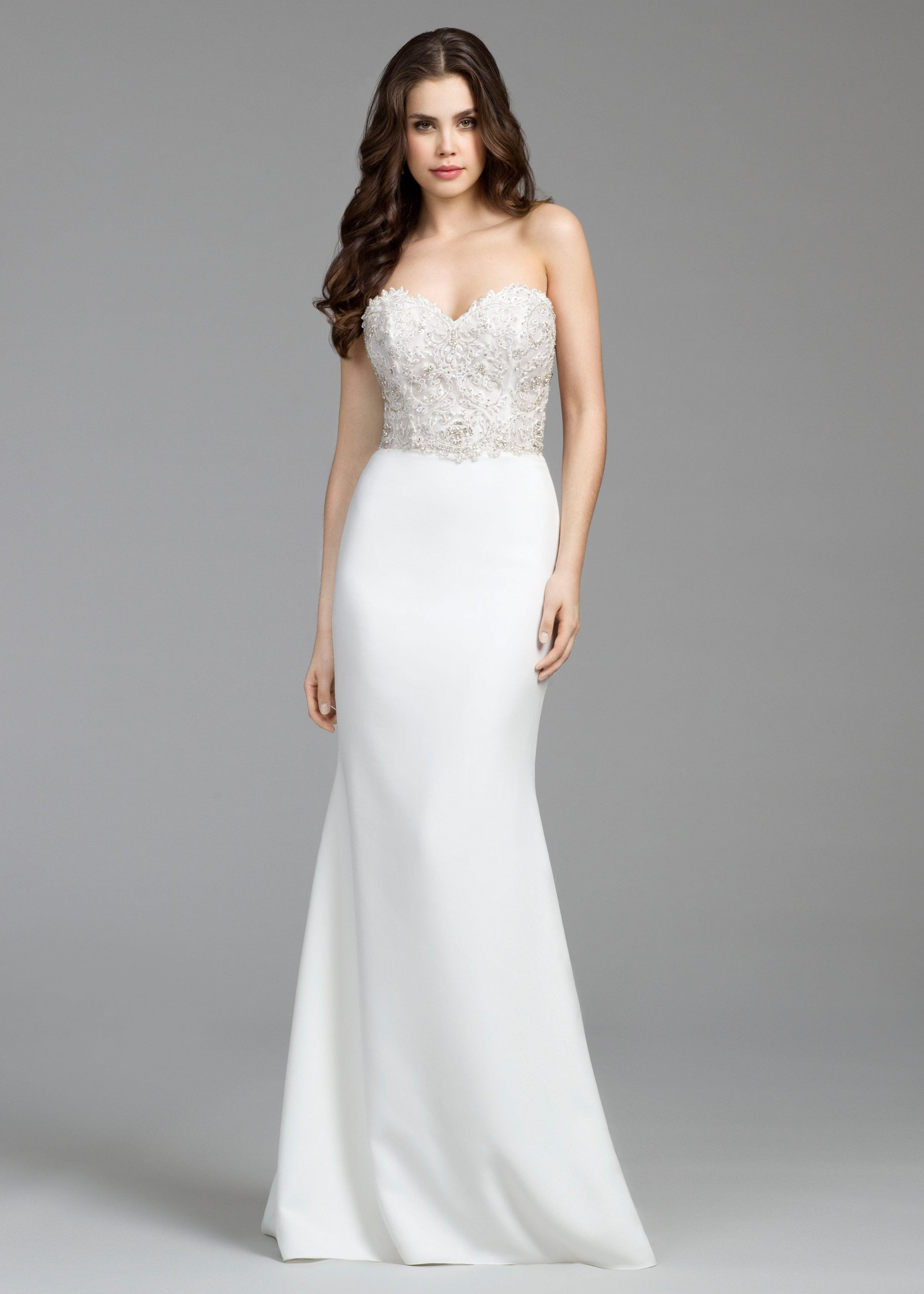 4e4414f5f Tara Keely Style #2655, Sz. 12 Diamond White/Natural/Crepe Silk Original  Price $2,450 SA Price $1,450 S13422
