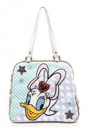 Irregular Choice X Disney Mickey Friends Daisy Duck So Pretty Bag Lavender
