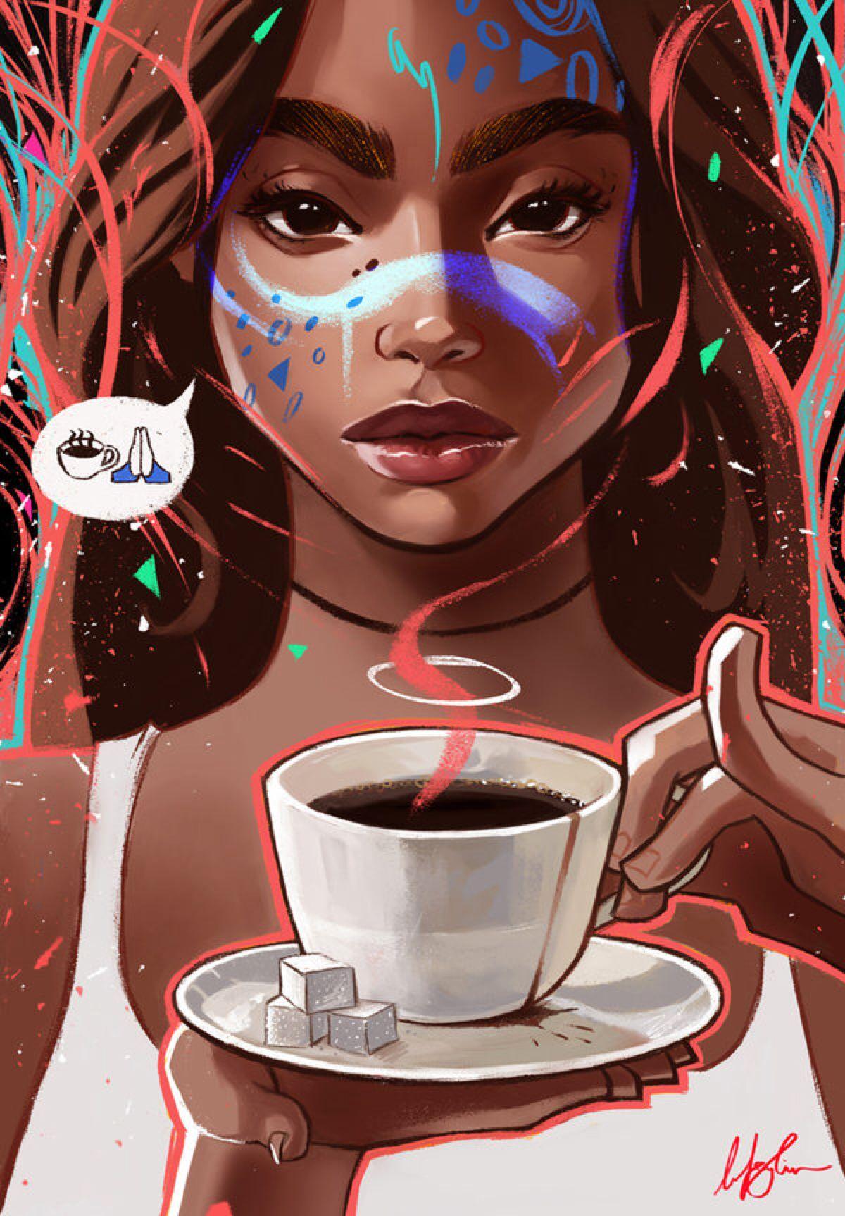 Morning prayer & coffee ☕️ 2018 styles Follow Chanel