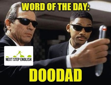 Word of the Day: DOODAD