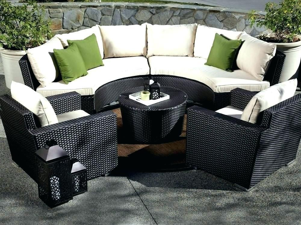 Black Garden Furniture Covers Dust Cover Circular Outdoor Table