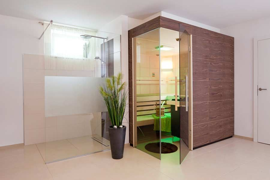 Gästebad oder Kinderbad im HUF Haus modum 8 10 | Fachwerk von HUF ...