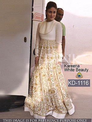 Designer Traditional Gown Indian Wedding Dress Partywear Bollywood