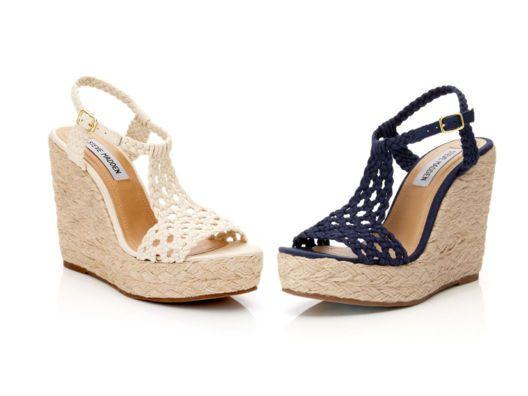 {Steve Madden Manngo Wedge Sandal} fabulous summer shoe!