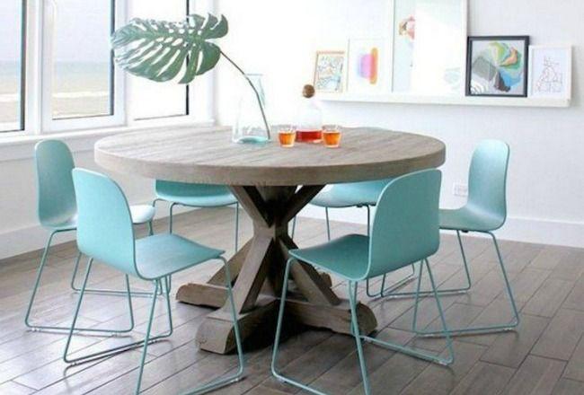 table ronde ou table rectangulaire d co a lire sur cocon de d coration pinterest table. Black Bedroom Furniture Sets. Home Design Ideas