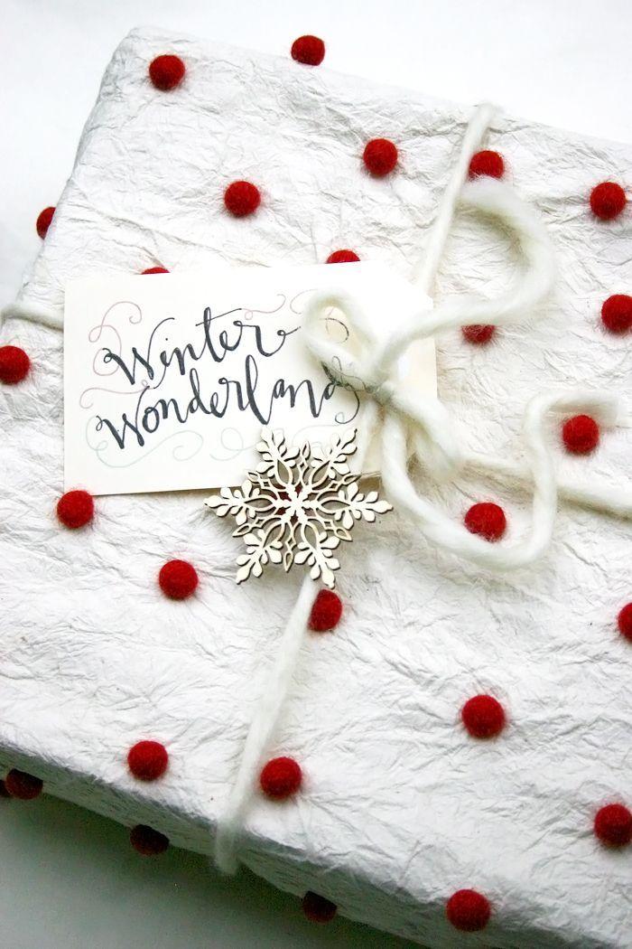 Traumhaft: Weißes Geschenkpapier für den besonderen Auftritt mit ...