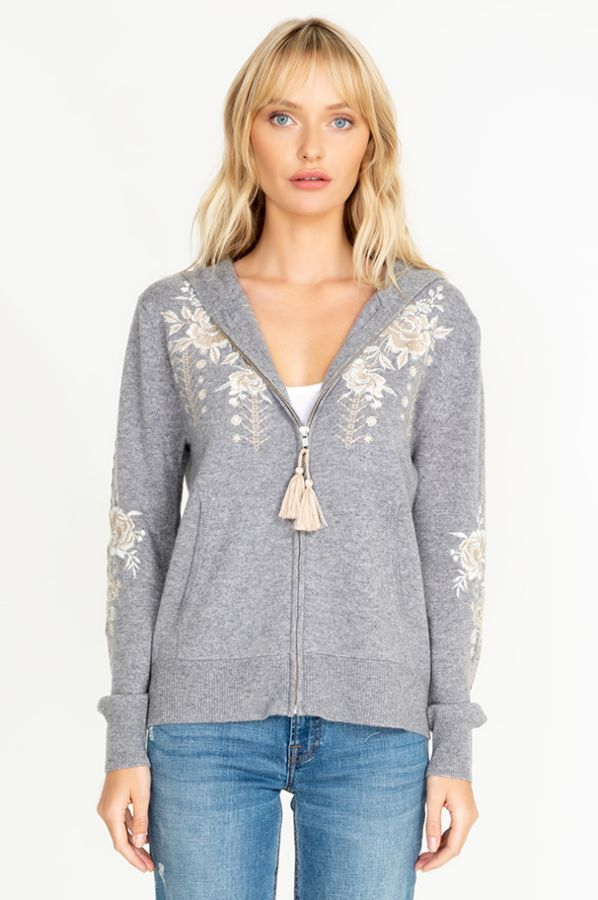 Embroidered Hoodie Image By Laura Halliday On Boho