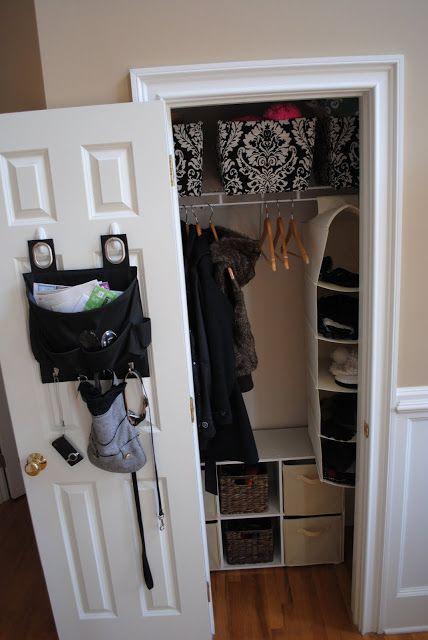 Small Entry Closet Makeover Closet Makeover Entry