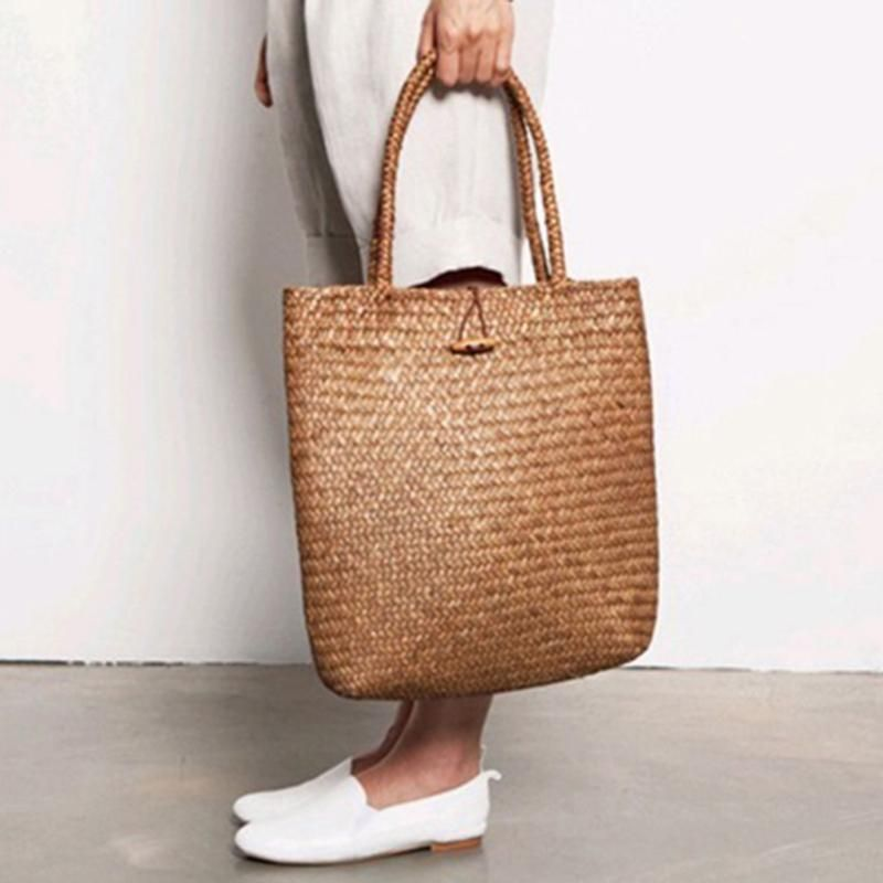 c94d150f06 Women Fashion Designer Lace Handmade Handbags Bali Tote Bags Handbag Wicker  Rattan Bag Shoulder Bag Shopping Straw Bag
