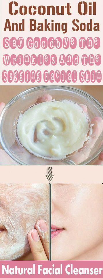 Apply This Baking Soda And Coconut Oil Mask Your wrinkles ...