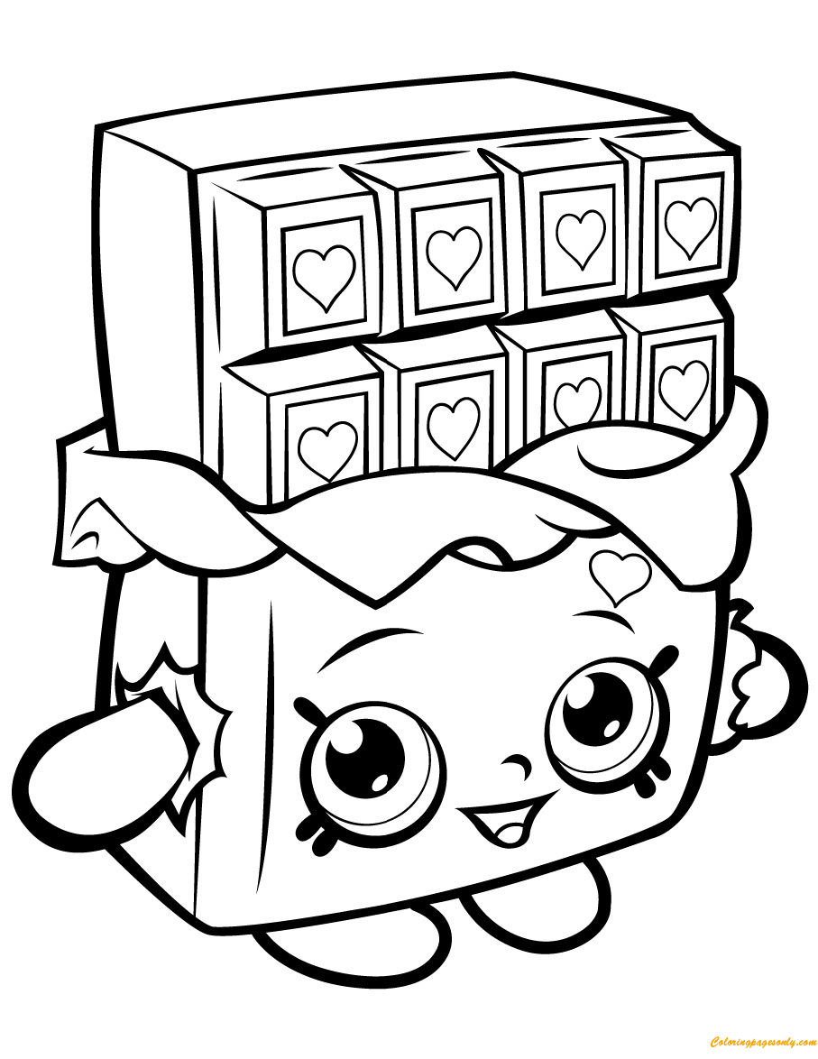 Shopkins Coloring Page Children Coloring In 2020 Shopkins Coloring Pages Free Printable Cartoon Coloring Pages Shopkin Coloring Pages