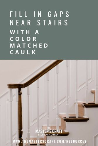 Best Fix Wood Floor Mistakes With Color Matched Caulk The Master S Craft Flooring Flooring 400 x 300