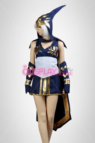 League of Legends -- Ashe Cosplay Costume Version 01 | Nerdy ...