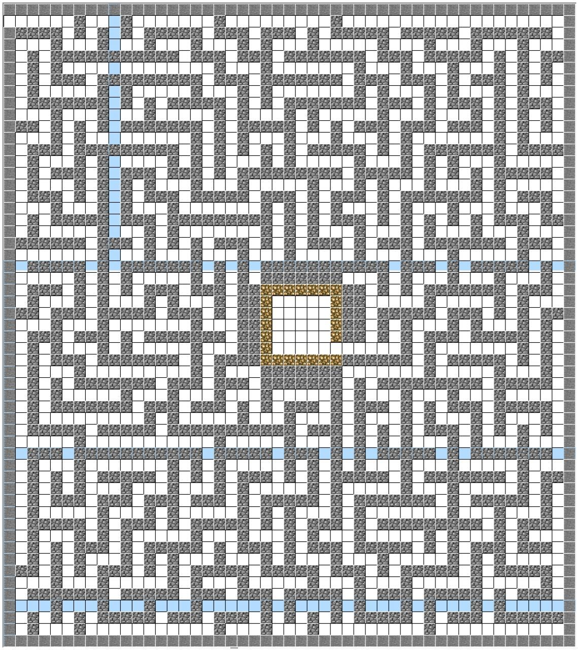 This is a picture of the maze i used minecraft structure planner i used minecraft structure planner malvernweather Images