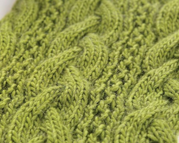Whip up Sarah Hazell's chunky cabled scarf in a weekend and say goodbye to Autumn chills!